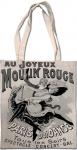 Taška bavlněná Moulin Rouge