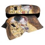 Pouzdro s utěrkou Klimt - Polibek
