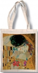 Taška bavlněná barevná - Klimt - Polibek