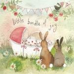 Přání k narození dítěte - Bundle of joy