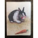 Notýsek Rabbit, 9*12 cm