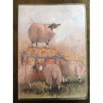 Notýsek Sheep, 9*12 cm