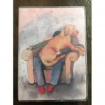 Notýsek Lap dog, 9*12 cm