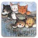 Podložka Kittens 10*10 cm