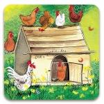 Podložka Chicken coop 10*10 cm
