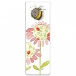Záložka magnetická Bee and flower