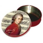 Podložky v dóze Mozart, pr. 9 cm - 4 ks