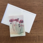 Notýsek Poppies, 9*12 cm