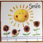Trhací bloček Smile, 9*9 cm