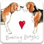 Magnetka Bouncing beagles