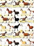 Papír balicí Horses