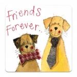 Podložka Friends forever 10*10 cm