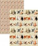 Papír balicí Charismatic cats