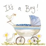 Přání k narození dítěte - Baby boy