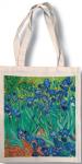 Taška bavlněná barevná - Van Gogh - Kosatce
