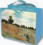 Taška nákupní Monet - Máky