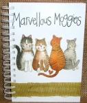 Zápisník spirálový - Marvellous moggies, A5