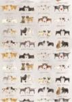 Utěrka AC - Delightful dogs - 45*65 cm