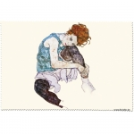 Utěrka na brýle Schiele - Edith