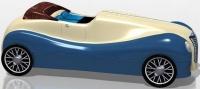 Cabriolet blue - plechová dóza