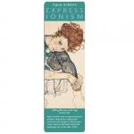 Záložka papírová Schiele - Edith