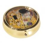 Lékovka velká kulatá Klimt - Polibek