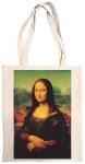 Taška bavlněná barevná - Mona Lisa