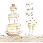 Přání svatební - Mr and Mrs
