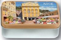 Dóza Nice - květinový trh 9,5*6*2,7 cm
