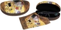 Pouzdro velké s utěrkou - Klimt - Polibek