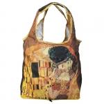 Skládací taška Klimt - Polibek