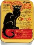 Dóza Chat Noir Drouot - malá 9,5*6*2,7 cm