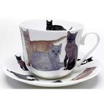 Cats galore šálek s podšálkem