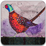 Podložka Pheasant 10*10 cm