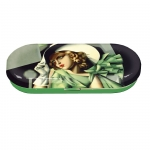 Pouzdro na brýle Lempicka - Dáma s rukavicemi SLEVA