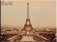 Magnetka Paris sepia