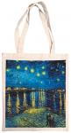 Taška bavlněná barevná - Van Gogh - Hvězdná noc nad Rhonou