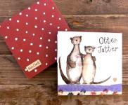 Trhací bloček Otter jotter, 9*9 cm