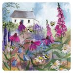 Podložka Bee garden, 10*10 cm