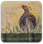 Podložka Grey partridge 10*10 cm