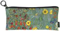 Pouzdro textil - Klimt - Zahrada