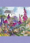 Utěrka AC - Bee garden - 45*65 cm