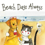 Přání Beach days always