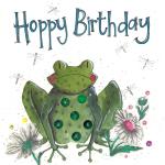 Přání Birthday frog