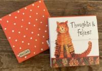 Trhací bloček Thoughts and felines, 9*9 cm