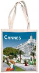 Taška bavlněná barevná - Cannes