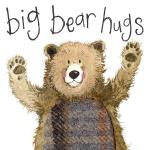 Přání Bear hugs