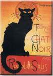 Pohlednice Chat Noir Tournée