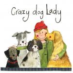 Podložka Crazy Dog Lady, 10*10 cm