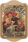 Tác Mucha - Bieres de la Meuse, 14*21 cm